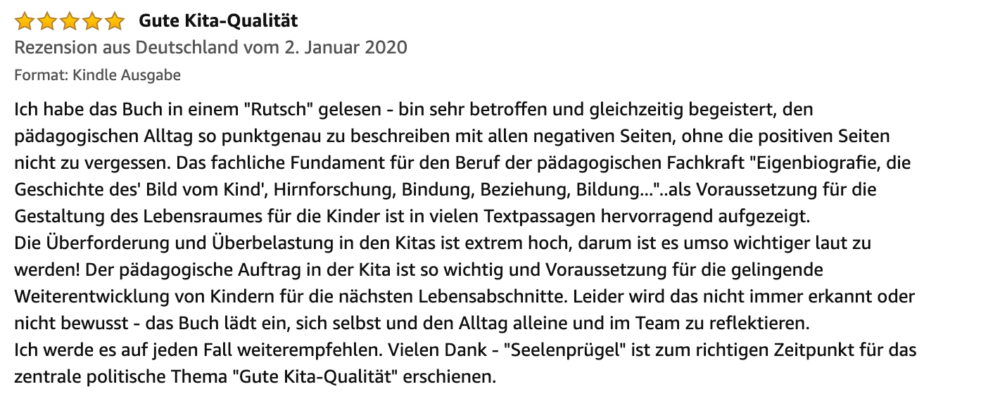 Seelenpruegel Rezension 28