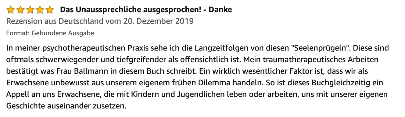 Seelenpruegel Rezension 29